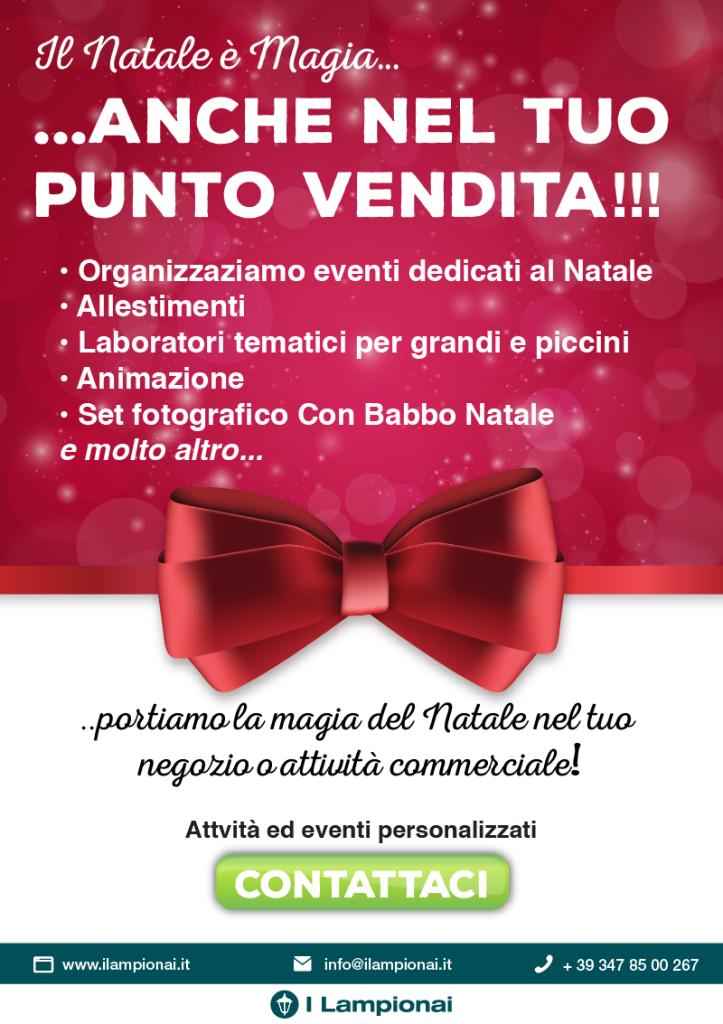 organizzazione eventi e attività promozionali natale 2016
